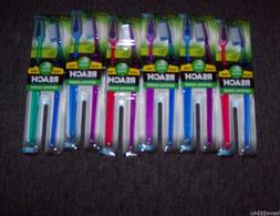 1 DOZEN REACH TOTAL CLEAN CRYSTAL CLEAN TOOTHBRUSHES FULL SO