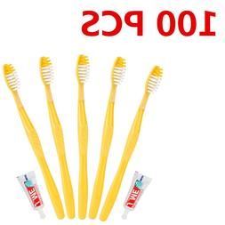 100/50 PSC Portable Hotel Disposable <font><b>Toothbrush</b>