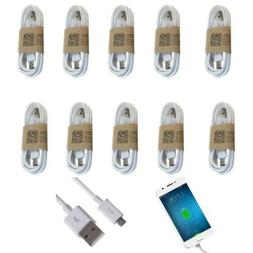10Pcs/Lot Micro USB Charger Fast Charging Cable Cord For And