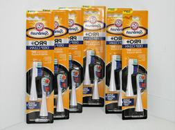 12 Arm & Hammer Spinbrush Pro + DEEP Clean Soft Replacement/