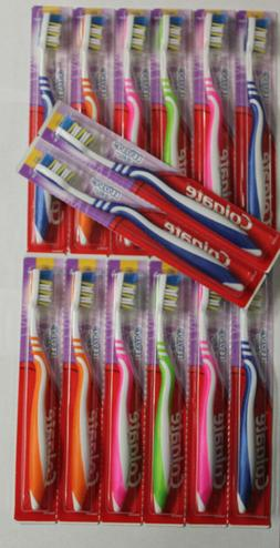 12 NEW COLGATE WAVE ZIG ZAG SOFT COMPACT TOOTHBRUSHES w/ TON