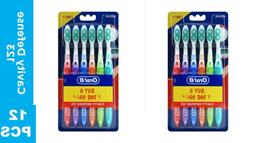12 Pack Oral-B All Rouder Soft Ergonomic Z Shaped Bristles M