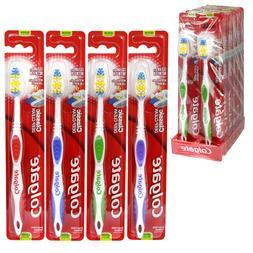 12 Pack Colgate Toothbrush, Medium Full Head, Extra Clean, F
