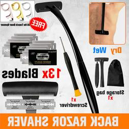 18in Back Hair Removal Body Shaver Ergonomic Handle Shave We