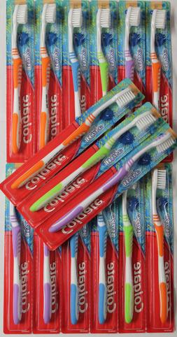 12 COLGATE WAVE YOUTH SOFT ULTRA COMPACT TOOTHBRUSHES Ages 8