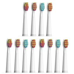 12X Soft Brush Heads White for Fairywill Electric Toothbrush