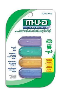 Sunstar 152Rf Gum Anti-Bacterial Toothbrush Covers, 4 Covers