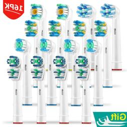 16PK Oral B Replacement Tooth Brush Heads Compatible Braun E