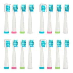 16x Fairywill Toothbrush Replacement Brush Heads for FW-507