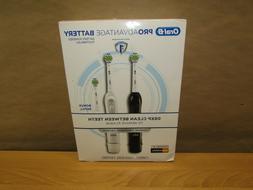 2 Pack Oral-B Electric Toothbrush ProAdvantage Deep Clean NE