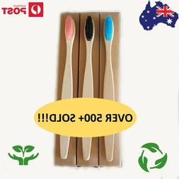 🔥10 pcs bamboo toothbrush bulk buy
