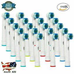 20pcs For Braun Oral-B Precision Clean Toothbrush Replacemen