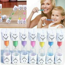 2minute Toothbrush Sand Timer Clock Smiley Face Children Tim
