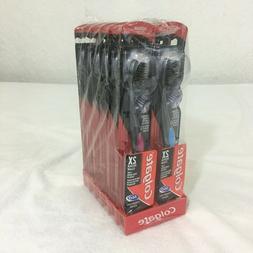 Colgate 2X Deeper Clean 360 Charcoal Siyah Medium Bristles T