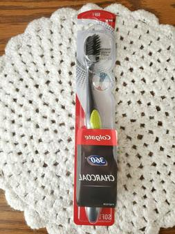 Colgate 360 Charcoal Infused soft Bristles 1 Toothbrushe fre