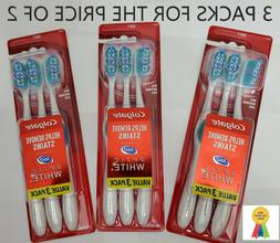 Colgate 360 Optic White Soft Toothbrush Value Pack 3 count 3