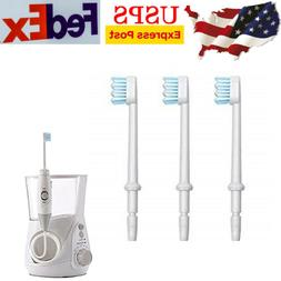 3x Toothbrush Replacement Heads for Waterpik Water Flosser W