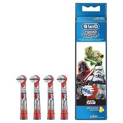 4 x Oral-B Stages Kids Star Wars Replacement Heads Childrens