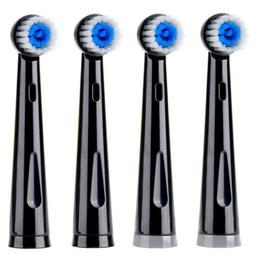 4pcs Fairywill Electric Toothbrush Heads Soft Bristles Only