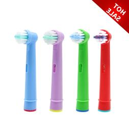 4pcs Replacement Kids Children Tooth Brush Heads For <font><