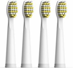 4pcs Toothbrush Brush Heads Replacement Hard Bristle White f