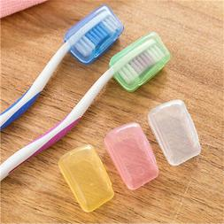 5PCS Toothbrush Head Cover Case Cap Travel Hike Camping Brus