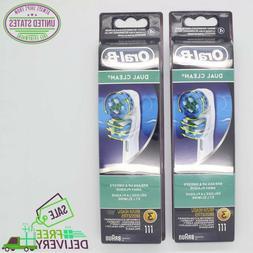 6 braun oral b dual clean toothbrush