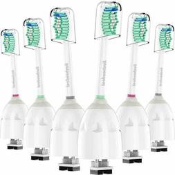 6 Pack Sonic Brush Heads Philips Sonicare Toothbrush Oral Ca