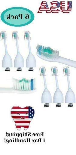 6 pcs toothbrush brush heads replacement