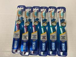 Six Assorted Oral B Pro Flex Pro Health Toothbrush-Soft New