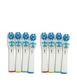 8 pcs replacement electric toothbrush heads soft