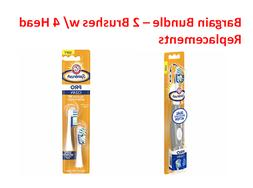 ARM & HAMMER - SPINBRUSH PRO CLEAN - SOFT 2 REPLACEMENT BRUS