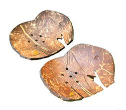 Handcrafted Elephant Shaped Natural Coconut Shell Soap Dish