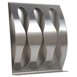 K ONE 3M Polished Stainless Steel Self-Adhesive Wall Mount T