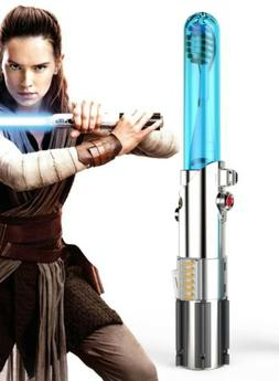NEW LOT OF 5 - Firefly Star Wars Rey Lightsaber Kids Toothbr