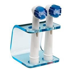 Seemii Electric Toothbrush Head Holder for Oral-b, Clear Blu