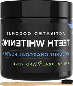 Activated Charcoal Teeth Whitening Powder  Natural Whitening