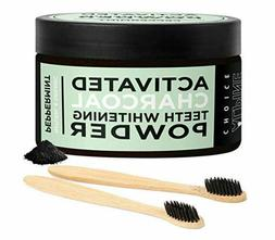 Natural Activated Charcoal Teeth Whitening Powder Stain Remo