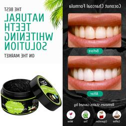 EZGO Activated Charcoal Teeth Whitening Toothpaste Powder Fr