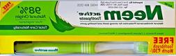 Neem Active Toothpaste 200 g X pack of 6 + Free Toothbrush P