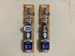 Arm & Hammer Med Spinbrush Dual Brush Head Action  Pro Clean