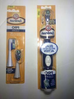 Arm & Hammer Spinbrush Pro Battery Powered Soft Toothbrush D