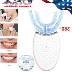 automatic wireless 360electric sonic toothbrush teeth whiten