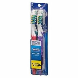 Oral-B Pulsar Medium Bristle Toothbrush , 2 Count,