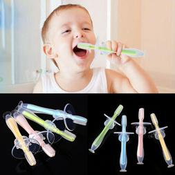 Baby Kids Teether Training Silicone Bendable Newborn Infant