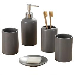 NarwalDate Bathroom Toiletries Accessory 5 pieces Set