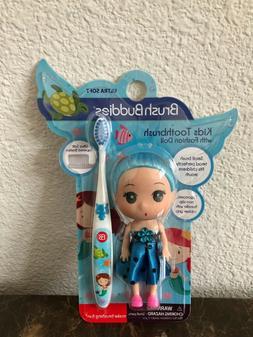 Blue Brush Buddies Toothbrush with Fashion Doll!