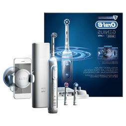 Braun Oral-B GENIUS 8000 Rechargeable Electric Toothbrush Wh