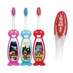 Bucky The Beaver Infant-Child Size Head Premium Toothbrush-