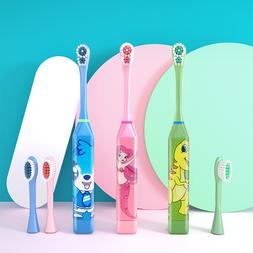 Cartoon Children Electric <font><b>Toothbrush</b></font> <fo